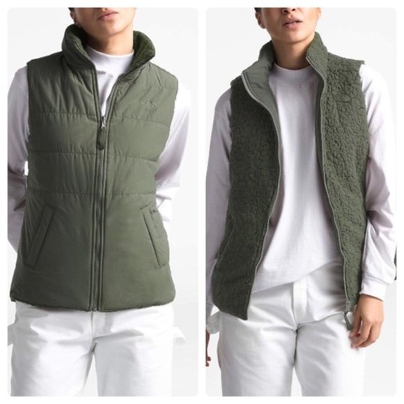 New The North Face Reversible Merriewood Vest